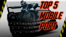 Top 5 игр портированных на смартфон