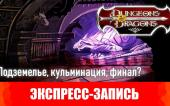 Dungeons & Dragons. Эпизоды 20-21. Подземелье, кульминация, финал? [Экспресс-запись]