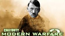 Гитлер решил поиграть в COD: MW 2