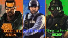 Обзор игры Half-Life, а также дополнений Blue Shift и Opposing Force