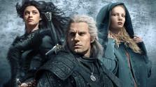 Геральт, Фрингилья и темнокожие Дриады.