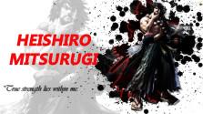 история персонажа heishiro mitsurugi из серии файтингов soul