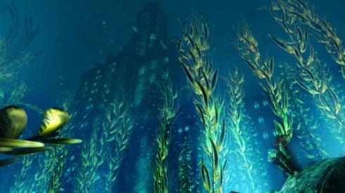 Дно океану - Вікіпедія Дно океану - вся поверхня планети (3/4), що...