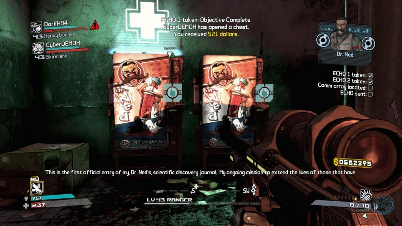 how to get to zombie island borderlands