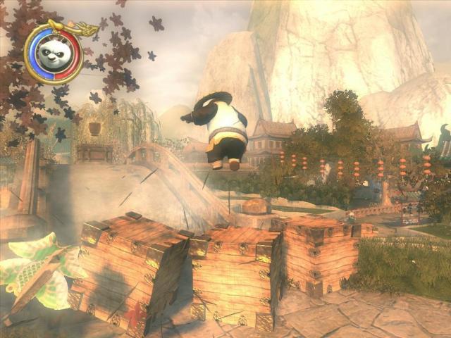 Игру конг фу панда