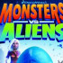 Сайт игры Monsters vs. Aliens
