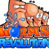 Сайт игры Worms Revolution