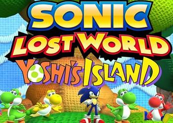 Sonic: Lost World - Yoshi's Island