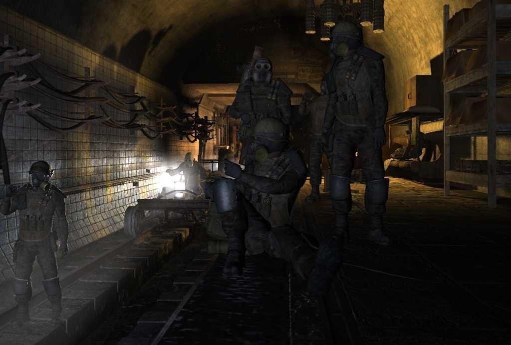 картинки игры метро 2033