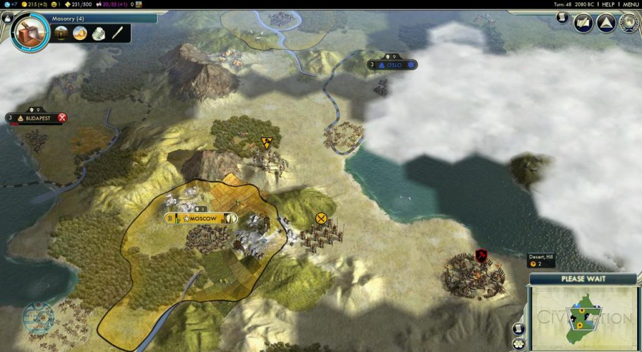 Sid Meier's Civilization 5.