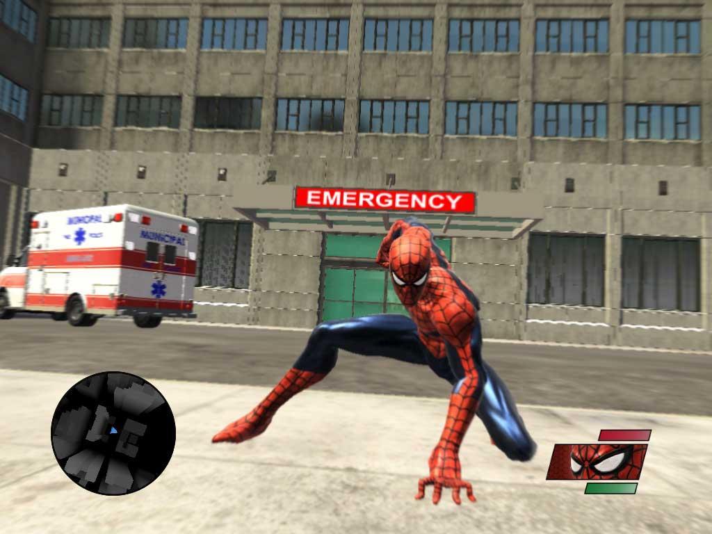 человек паук играть онлайн