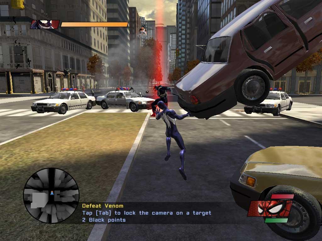 игра скачать человек паук 2 играть