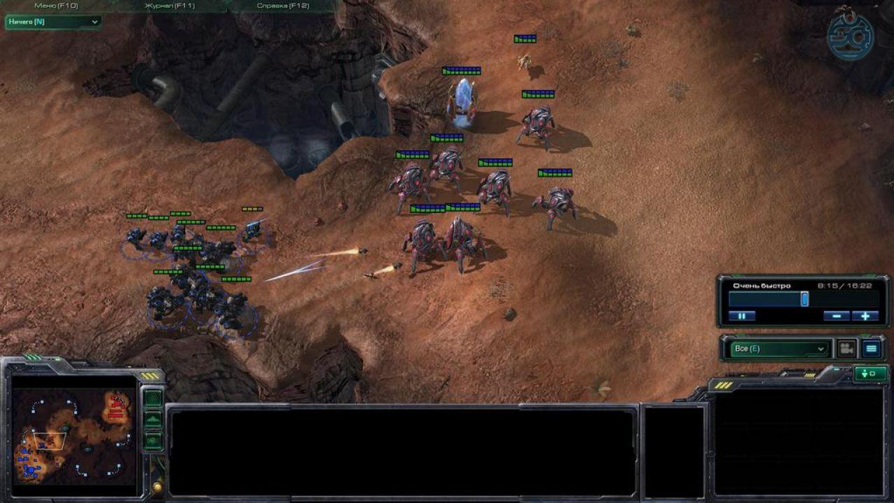 одиночную в 2 starcraft карту как играть