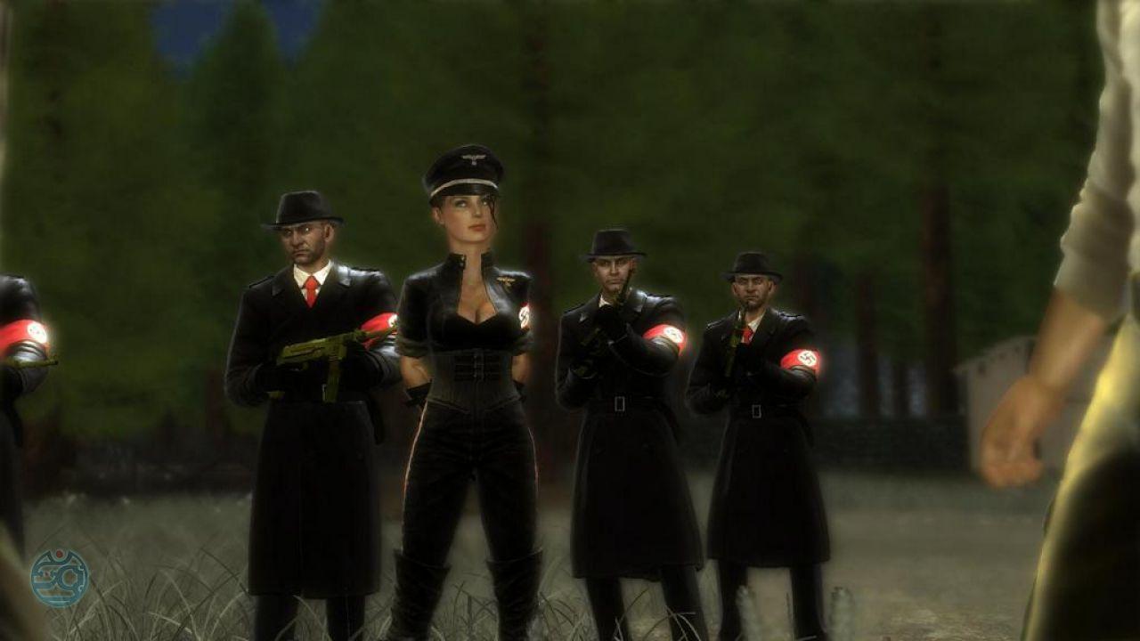 The saboteur сиськи