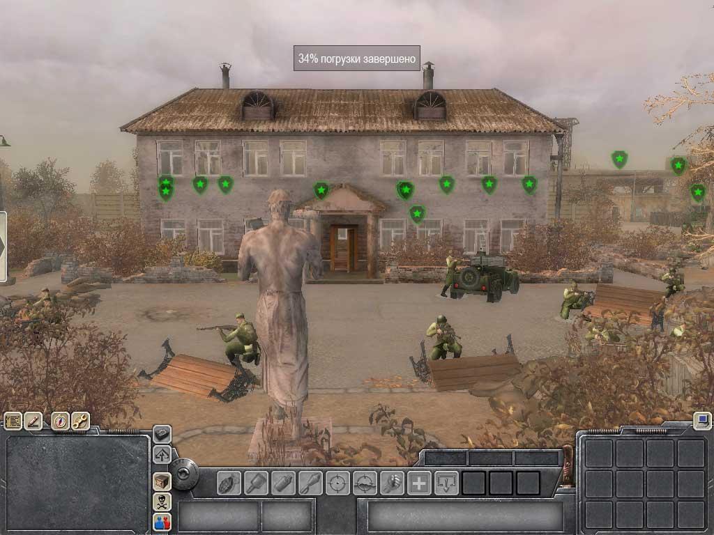 В тылу врага 2 Лис пустыни (2010) PC Crack торрент игры скачать бес…
