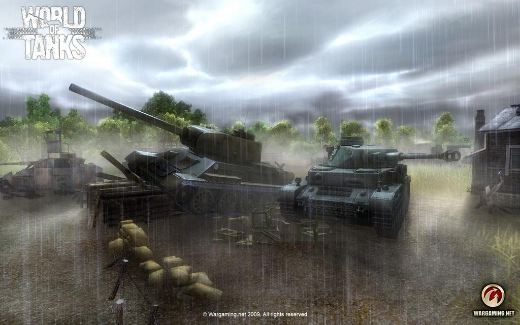 Превью игры world of tanks
