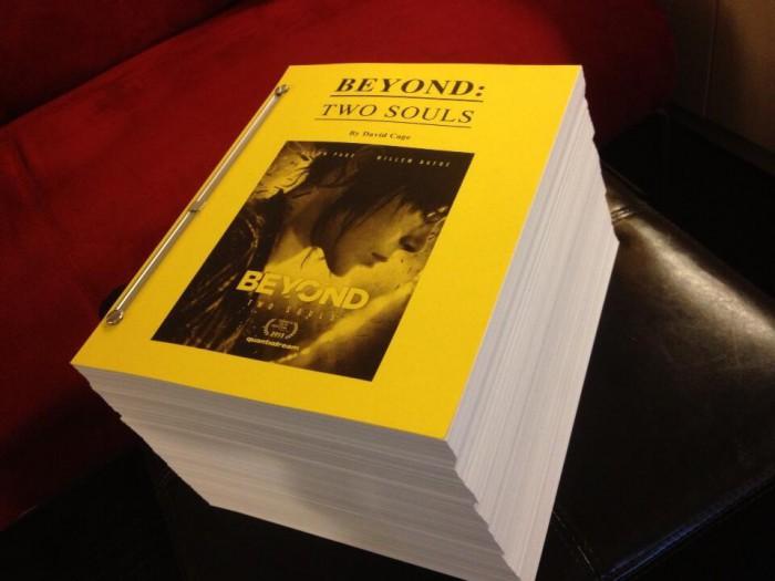 Книжка про Beyond: Two Souls