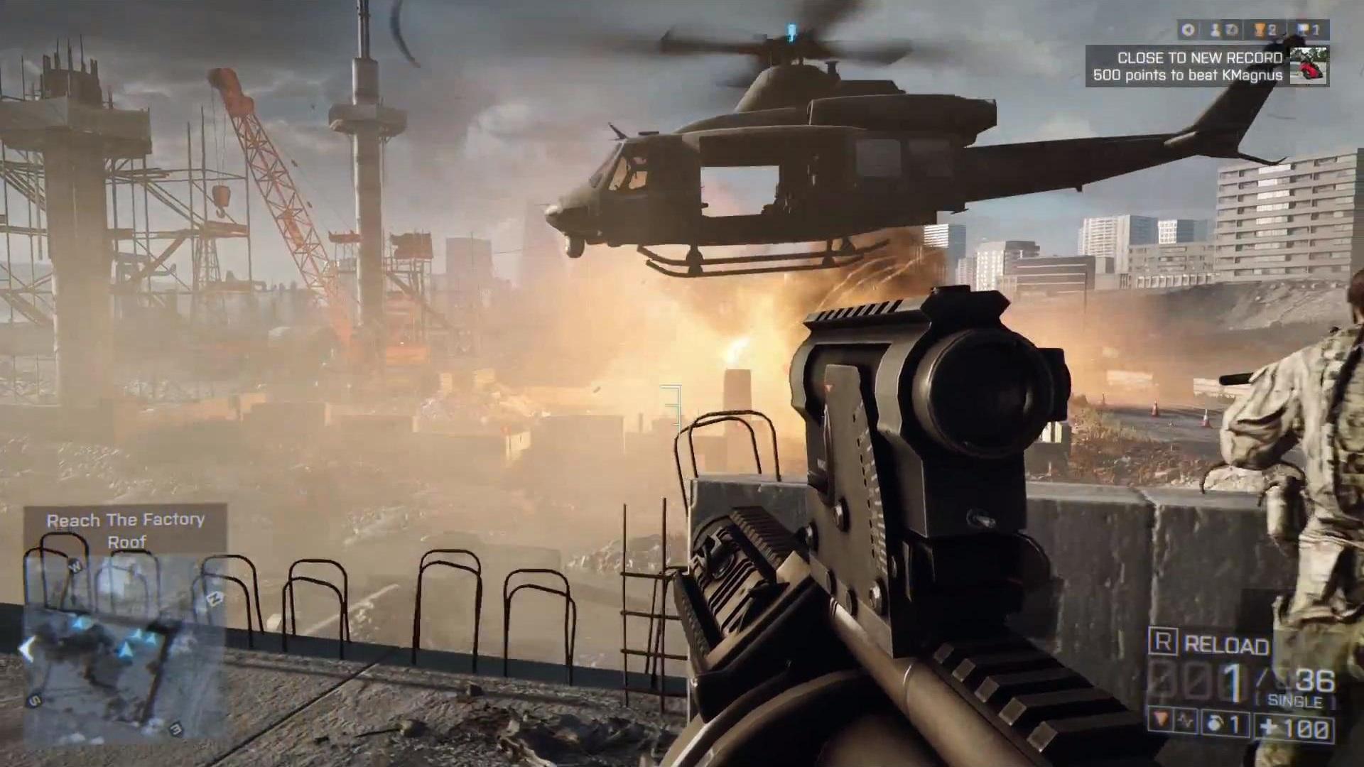 геймплей battlefield 4