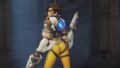 Blizzard уберёт слишком сексуальную позу Трейсер из Overwatch после жалобы