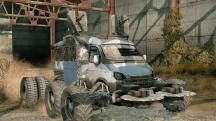Автомобильный экшен Crossout прикатил в Steam