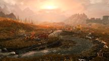 Пара видео с красотами Skyrim Special Edition