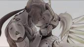 Cледующая парочка в Overwatch— это женщина-некромант и полуробот-получеловек