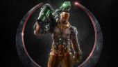 Ещё один герой Quake Champions — кибернетический клон Visor, от которого не спрятаться
