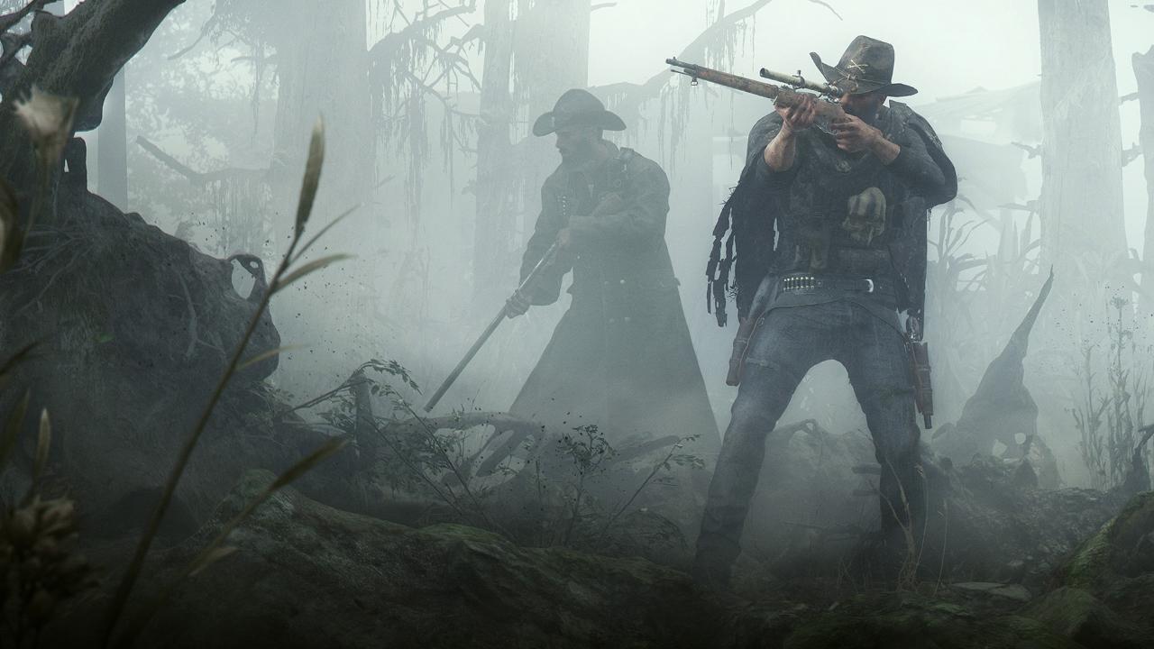 HUNT: Showdown от Crytek—10 минут выживания во тьме