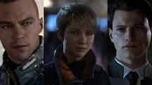 Все трое главных героев в одном трейлере Detroit: Become Human с TGS 2017
