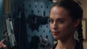 Алисия Викандер притворяется Ларой Крофт в дебютном трейлере новой экранизации Tomb Raider