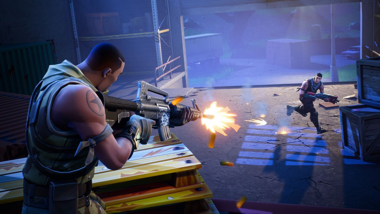 the setting in battle royal Battle royale is a fortnite inspired minigame.