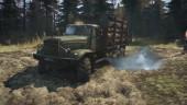 Свежий геймплейный трейлер Spintires: MudRunner полон машин-гряземесов и драматичной музыки