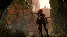 Огненноволосая воительница стегает чудовищ кнутом в новой демонстрации Darksiders III