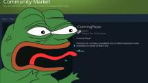 Valve удалила из Steam смайлики с лягушонком Пепе после жалобы правообладателя