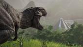 Динозавры крупным планом в новом видео из экономической стратегии Jurassic World Evolution