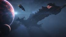 Вступительное видео сюжетной кампании Warhammer 40,000: Inquisitor— Martyr с поистине гигантским крейсером
