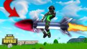 Из Fortnite убрали управляемые ракеты