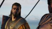 Первые скриншоты из Assassin's Creed: Odyssey намекают на жаркий роман между двумя греками