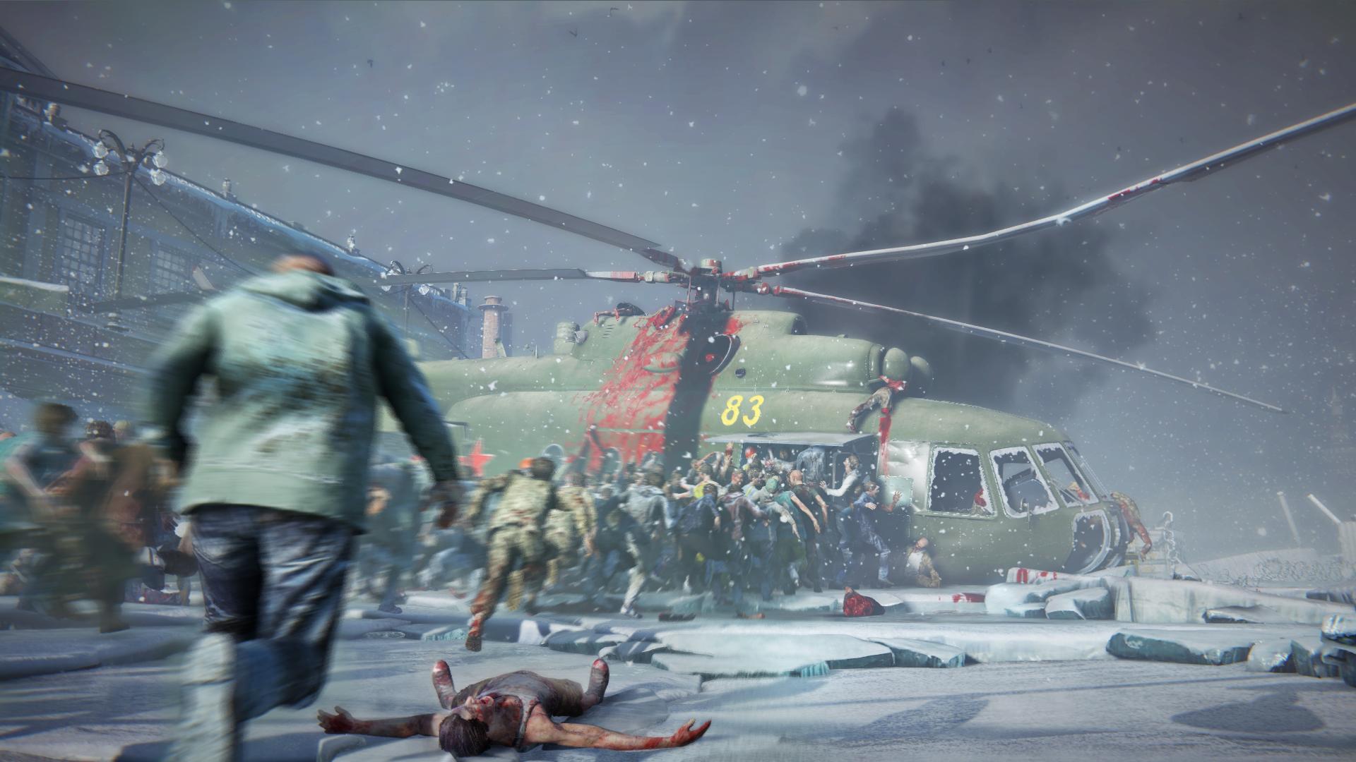 Ещё одна вариация на тему Left 4 Dead — больше 10 минут геймплея World War Z