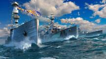 World of Warships предлагает выиграть поездку на главный парад военно-морского флота России