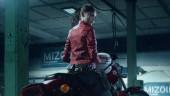 Resident Evil 2: обложка коробочной версии, коллекционное издание и Клэр на мотоцикле