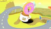 В августе стартует Donut County— игра про то, как дырка от бублика всасывает в себя всё вокруг