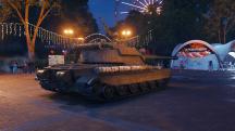 Ангар World of Tanks переехал в минский парк Горького