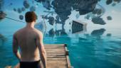 10 минут геймплея Twin Mirror, где главный герой разгадывает загадку прошедшей ночи