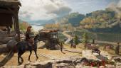 В Assassin's Creed: Odyssey есть режим исследования, отключающий квестовые указатели