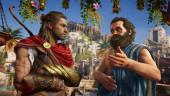 Алиса от «Яндекса» стала женой Сократа— спасибо скорому релизу Assassins' Creed: Odyssey