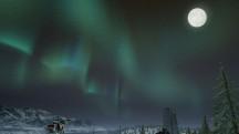 У зимней карты в PUBG появилась ночная версия с северным сиянием