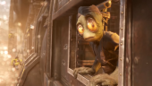 Поезд в неизвестность — кинематографичный отрывок Oddworld: Soulstorm