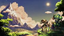 22 минуты геймплея рисованной карточной RPG SteamWorld Quest