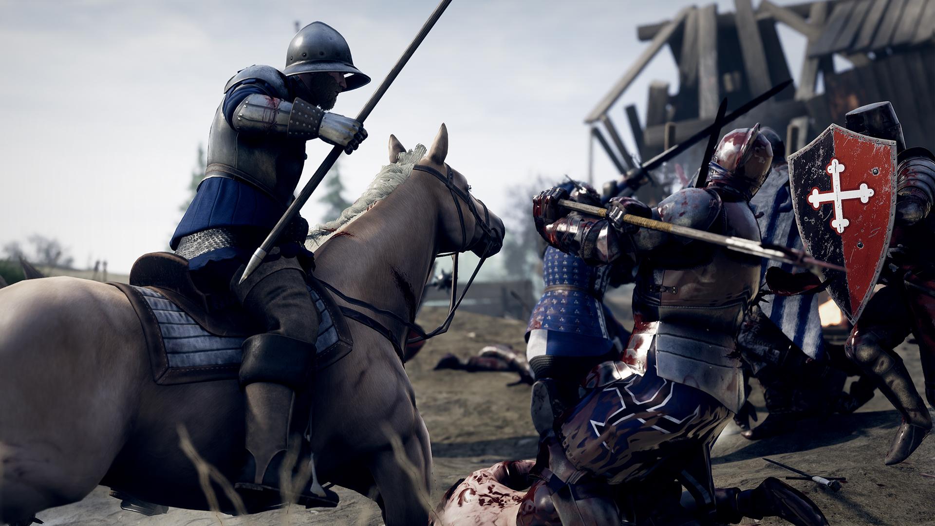 Серверы средневекового рубилова MORDHAU оказались не готовы к наплыву игроков, но авторы обещают всё починить